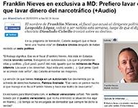 Franklin Nieves en exclusiva a MD