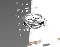 Animación y modelado 3D de reloj