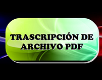 Transcripción de Archivo PDF