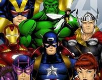 Ilustração - Os Vingadores (The Avengers)