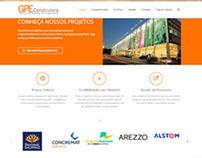 GPE Construtora - Website Completo