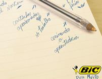 Anúncio: Canetas BIC