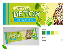Creation of packaging for the launching of cereal bars.