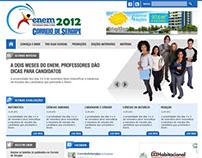 Projeto, desenho e montagem Enem 2012 Correio SE