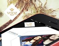 Vooz Fashion - App (Responsive)