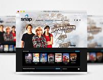 Web Banner - The Kings of Appletown for SNAPTV