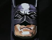 Batman Alex Ross bust speedpaint