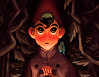 Over the garden Wall - Wirt , Beatriz & Jason (fanArt)