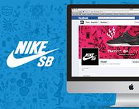 Nike SB · Project B.A @ Social Media