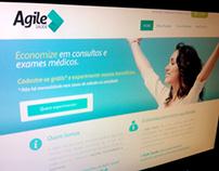 Site/Sistema Agile Saúde