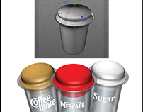 3d modeling & Coffee Mate Promotion