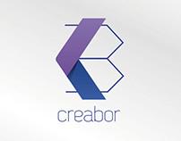 Creabor \ isologo design by Jaime Claure