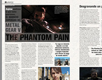 Video Game Magazine page