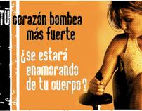 Megatlón - Campaña Gráfica/ Gym Graphic Campaign