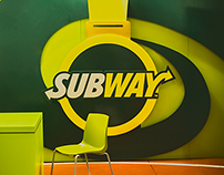 Stand Subway- Colombia, Media maratón de Bogotá.