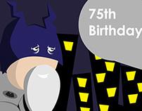 Batman 75 Birthday