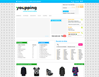 Restyling web para youpping.com