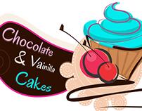 Chocolate & Vainilla Cakes Logo