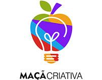 Simple logo( Maçã Criativa)