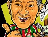 Caricatura Galvão Soares - 70 anos