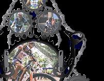 Portarretrato para Ciclistas