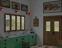 Arch Viz Interior (3ds Max, V-Ray, Photoshop)