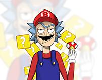 Ricky and... Mario?