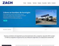 Diseño de Demos de Sitios Web ZACH