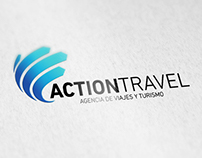 Action Travel Logo Design