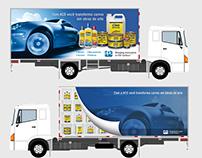 Lona para baú de caminhão