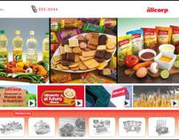 Diseño Web - Alicorp