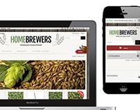 Homebrewers e-commerce