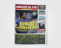 Rediseño Editorial Suplemento Abrazo de Gol