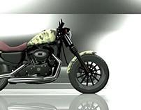 HarleyDavidson iron 883 Custom by me