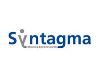 Sistema de identidad para la empresa Syntagma.