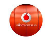 Montacharlas. Vodafone. Lanzamiento 4G