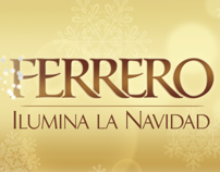 Visuals for Ferrero Rocher Christmas Event