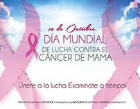 Mes de lucha contra el cáncer de mama - Campaña