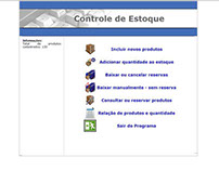 Web - Controle de Estoque Online