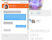 Desarrollo UX/UI DE CHAT