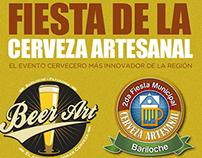 Afiche Publicitario Beer Art