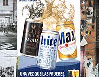 Afiches publicitarios cervezas