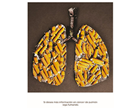 Creative Advertisement for Anti-Smoking campaign