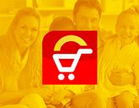 Rebrand Logo Supermercado Dia-Dia