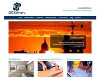 Web Grupo Salinero -Empresa de Construcción y Servicios
