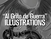 El Guerrillero Illustrations (2014)