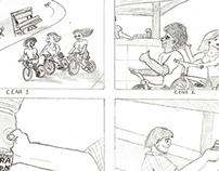 Storyboard Guaraviton (freelance para estudante)
