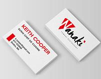 Nanaki Restaurant Business Cards
