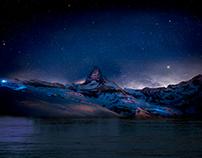 Paisaje Montañas - Photoshop
