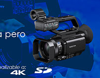 Sony PXW-X70 Banner